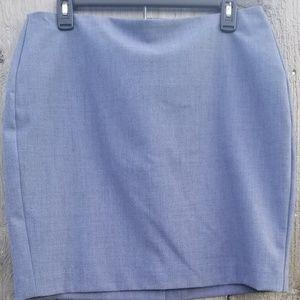 😃🍌Banana Republic Blue 💙Petite Mini-Skirt 👗